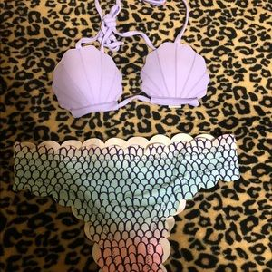 Swim - Seashell Shape Bikini Sets Swimwear